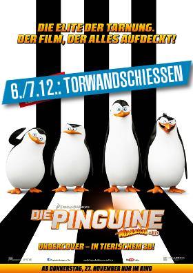 Pinguine-Torwand