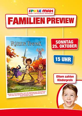 Familienpreview 25.10. | 15 Uhr