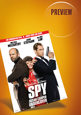 Preview: Spy - Susan Cooper Undercover