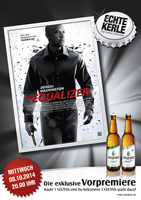Echte Kerle Preview: The Equalizer