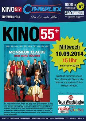 Kino 55+ September - Monsieur Claude und seine Töchter