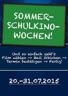 Sommer-Schulkino-Wochen