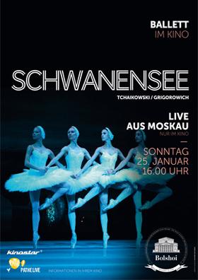 BolshoiBallett live: Swan Lake (Schwanensee)