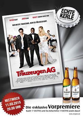 11.03. - Echte Kerle: Die Trauzeugen AG