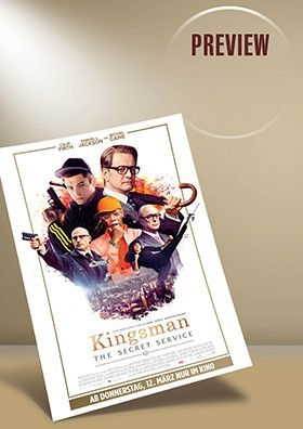 """Preview """"Kingsman: The Secret Service"""""""