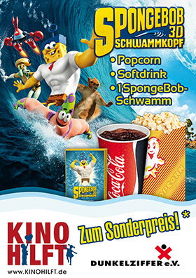 KINO HILFT mit SPONGEBOB