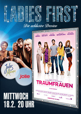 Ladies Firts Preview: TRAUMFRAUEN