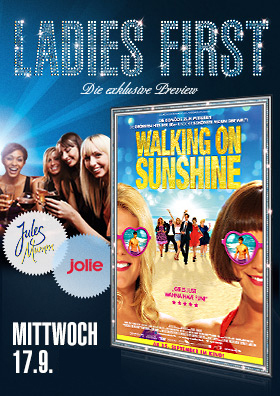 17.09. Ladies First: Walking on Sunshine