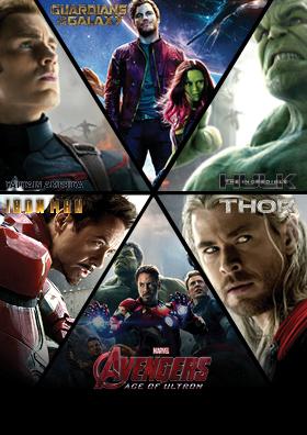 Superhelden-Marvel-Marathon