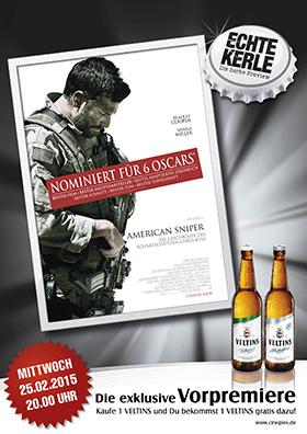 25.02. - Echte Kerle: American Sniper
