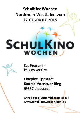 SchulKinoWochen 2015