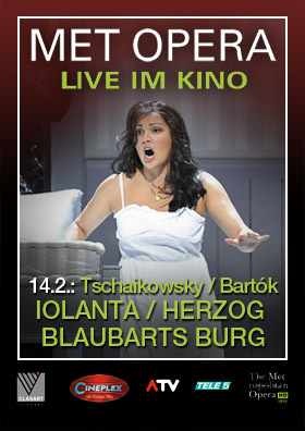 MET live: IOLANTA & HERZOG BLAUBARTS BURG