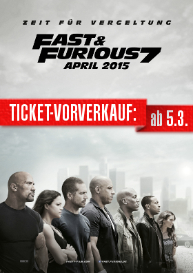 """VVK-Start """"Fast & Furious 7"""""""