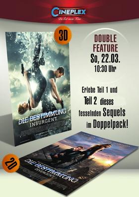 """Double Feature """"Die Bestimmung"""""""