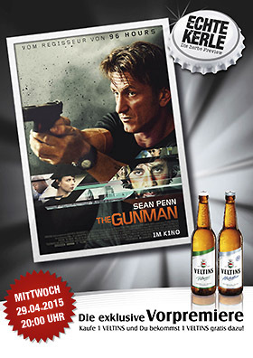 Echte-Kerle-Preview: THE GUNMAN