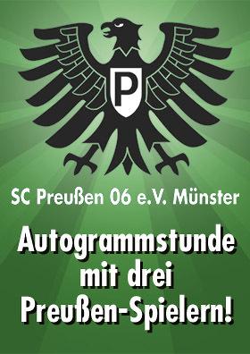 Preußen-Autogrammstunde im CINEPLEX!