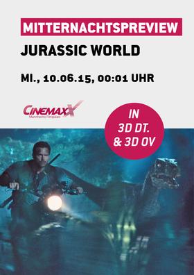 Mitternachtspreview: Jurassic World 3D