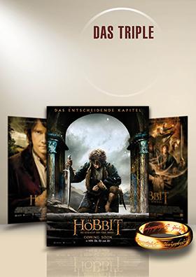 Das Triple vor Start - Hobbit unlimited!