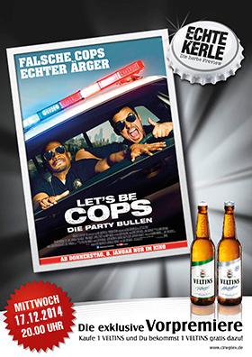 17.12. - Echte Kerle: Let's Be Cops