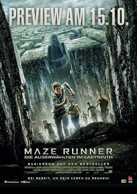 Preview: MAZE RUNNER - Die Auserwählten im Labyrinth