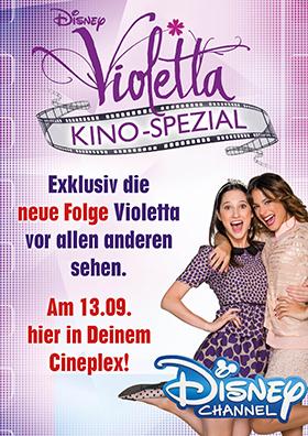 VIOLETTA Kino-Spezial mit Karaoke