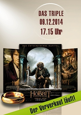 Das Triple vor Start - Hobbit unlimited!