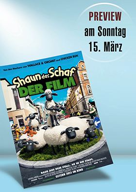 Familien Preview: Shaun das Schaf