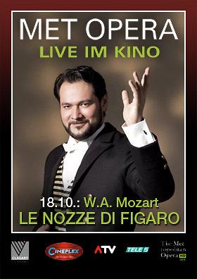 MET live: Mozarts LE NOZZE DI FIGARO