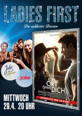 Ladies First: Kein Ort ohne Dich