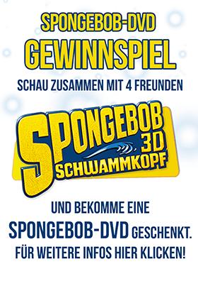 Spongebob verschenkt DVDs