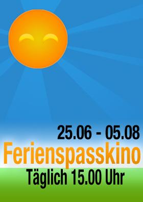 Ferienspasskino für 3,00 Euro auf allen Plätzen