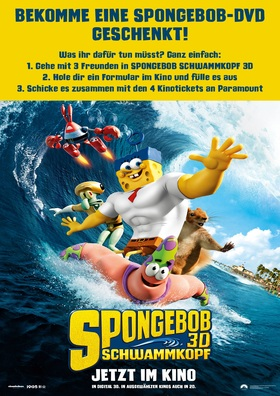 SpongeBob-Gewinnspiel