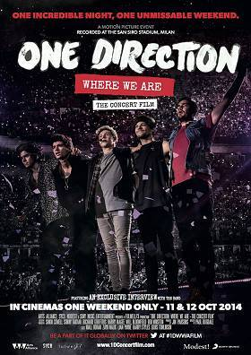 Wir präsentieren DAS EVENT im Kino für alle One Direction Fans