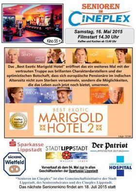 Seniorenkino: Best Exotic Marigold Hotel 2