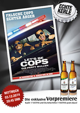 Echte-Kerle-Preview: LET'S BE COPS