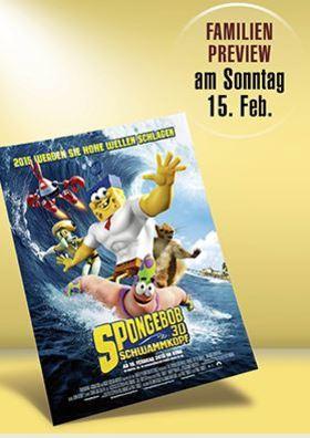 Familien-Preview: Spongebob 3D