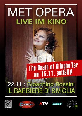 MET live: Rossinis IL BARBIERE DI SIVIGLIA