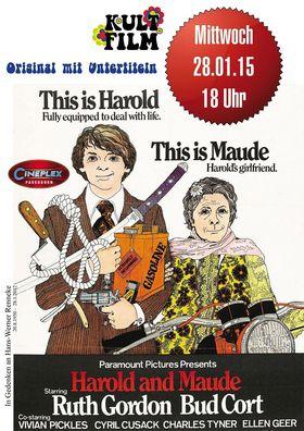 Harold and Maude USA 1971 Original mit deutschen Untertiteln