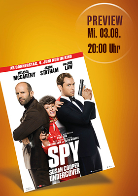 Preview - Spy - Susan Cooper Undercover