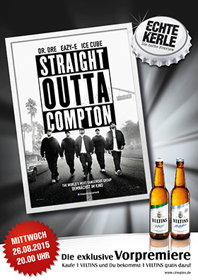 26.08. - Echte Kerle: Straight Outta Compton
