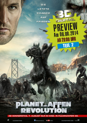 Preview - Planet der Affen: Revolution 3D