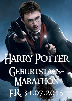 Harry Potter Geburstagsmarathon
