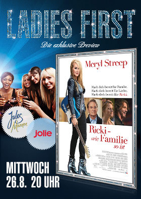 Ladies First Preview: Ricki - Wie Familie so ist