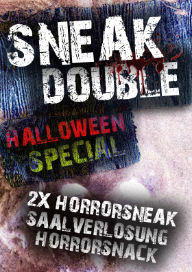 HALLOWEEN DOUBLE SNEAK