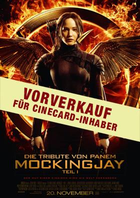 Vorverkauf für Cinecard