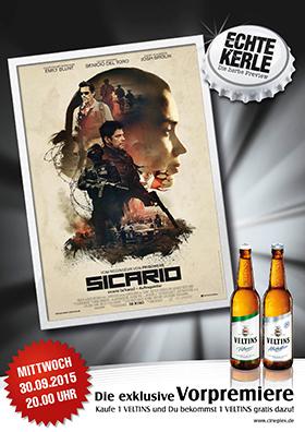 """Echte Kerle Preview """"Sicario"""""""
