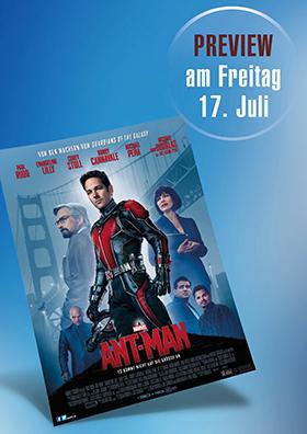 Vorpremiere: Ant-Man 3D