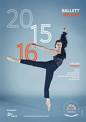 NEU! Bolshoi-Ballett