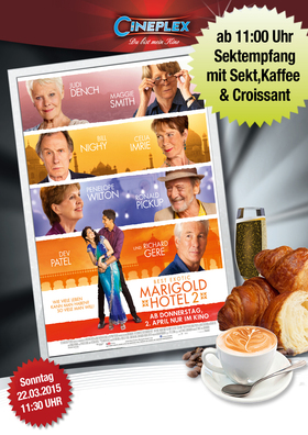 SektPreview: The Best Exotic Marigold Hotel 2