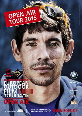 European Outdoor Film Tour Open Air 2015